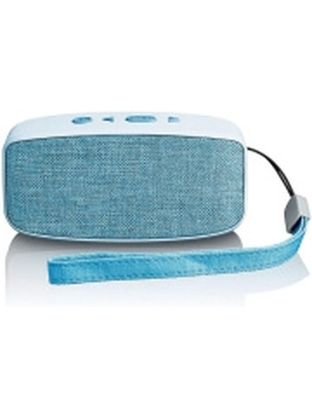 LENCO BT-120 BLUETOOTH SPEAKER WITH RECHARGEABLE BATTERY BLUE