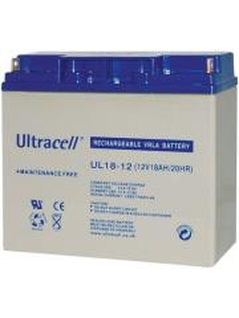 ULTRACELL UL18-12 12V/18AH REPLACEMENT BATTERY