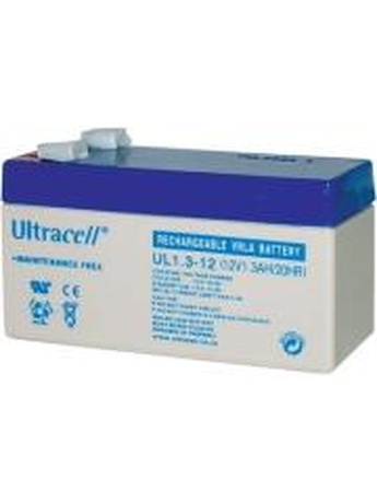 ULTRACELL UL1.3-12 12V/1.3AH REPLACEMENT BATTERY