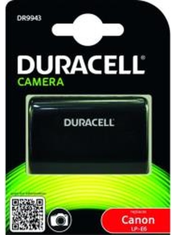 DURACELL DR9943 REPLACEMENT BATTERY FOR CANON LP-E6 7.4V 1400MAH