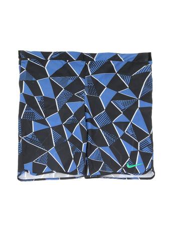 NIKE - Αγορίστικο σορτς NIKE FLEX ACE SHORT μπλε με μοτίβο