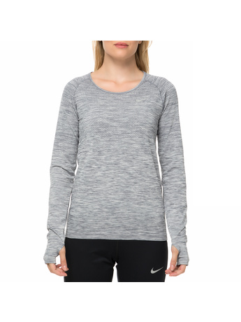 NIKE - Γυναικεία αθλητική μακρυμάνικη μπλούζα NIKE DF KNIT TOP LS