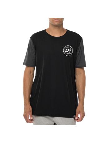 NIKE - Ανδρική κοντομάνικη μπλούζα NIKE ASYM NBA 2 μαύρη-γκρι