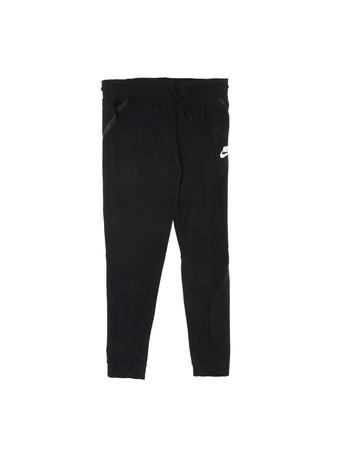 NIKE - Κοριτσίστικο παντελόνι φόρμας Nike TCH FLC μαύρο