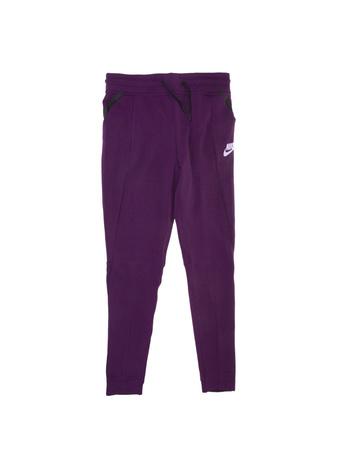 NIKE - Κοριτσίστικο παντελόνι φόρμας Nike TCH FLC μοβ