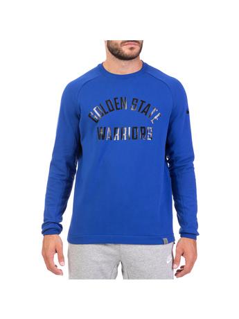 NIKE - Ανδρική φούτερ μπλούζα NIKE MDRN CREW FT μπλε