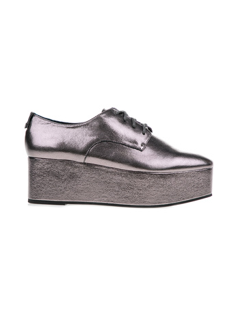 CALVIN KLEIN JEANS - Γυναικεία παπούτσια CALVIN KLEIN JEANS NATALYE ασημί 173f7c13366