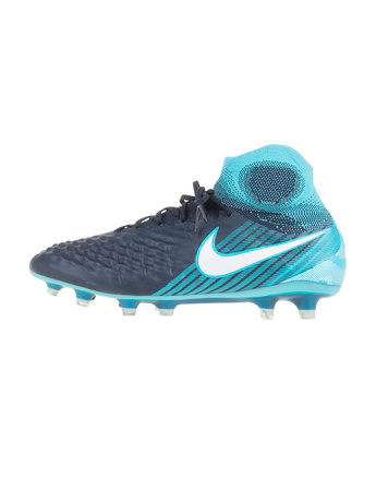 NIKE - Ανδρικά παπούτσια ποδοσφαίρου NIKE MAGISTA OBRA II FG μπλε