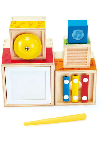 Hape Early Melodies Ξύλινο Stacking Music Set (E0336A)