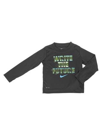 NIKE KIDS - Αγορίστικη μακρυμάνικη μπλούζα NIKE KIDS WRITE THE FUTURE