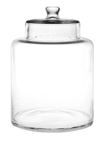 Βάζο Κουζίνας Γυάλινο Salut S&P BAM37291 - Salt & Pepper -