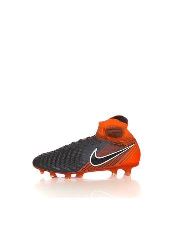NIKE - Ανδρικά παπούτσια ποδοσφαίρου OBRA 2 ELITE DF FG ανθρακί-πορτοκαλί b2b4ae65683