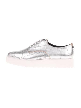 CALVIN KLEIN JEANS - Γυναικεία παπούτσια CALVIN KLEIN JEANS VICTORINA ασημί c5cff63f4f2