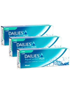 Alcon DAILIES AquaComfort Plus Toric (90 φακοί) Ημερήσιοι Μυωπίας Υπερμετρωπίας Αστιγματικοί