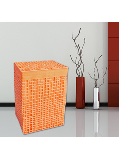 Καλάθι Απλύτων 40x30x60 San Lorentzo Square Orange