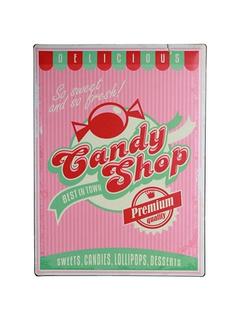 Μεταλλικός πίνακας - Candy Shop