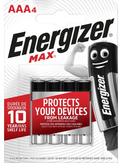 Energizer 4xAAA (4,99€)