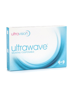 UltraVision UltraWave (6 φακοί) Μηνιαίοι Μυωπίας Υπερμετρωπίας