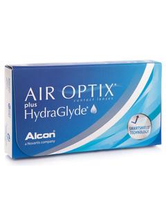 Alcon Air Optix Plus Hydraglyde (6 φακοί) Μηνιαίοι Μυωπίας Υπερμετρωπίας