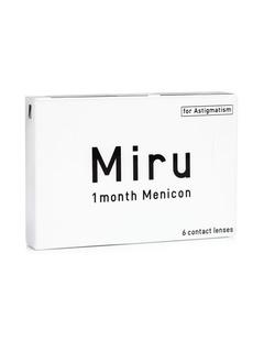 Menicon Miru 1 month for Astigmatism (6 φακοί) Μηνιαίοι Μυωπίας Υπερμετρωπίας