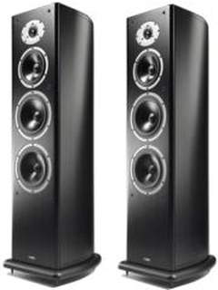 ACOUSTIC ENERGY AELITE 3 FLOORSTANDING SPEAKERS SET BLACK VENEER