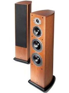 ACOUSTIC ENERGY AELITE 3 FLOORSTANDING SPEAKERS SET RED CHERRY VENEER
