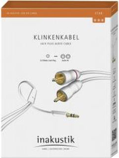 IN-AKUSTIK STAR MP3 AUDIO CABLE 3.5MM JACK PLUG - 2X CINCH