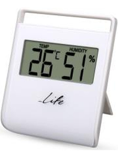 LIFE WES-102 DIGITAL INDOOR THERMOMETER WITH HYGROMETER