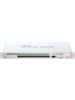 MIKROTIK CCR1016-12G CLOUD CORE ROUTER WITH 12-PORT RACKMOUNT GIGABIT ETHERNET 2GB