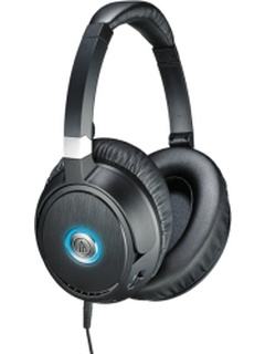 AUDIO TECHNICA ATH-ANC70 QUIETPOINT NOISE-CANCELLING HEADPHONES INTEGRATED MIC/VOLUME CONTROL