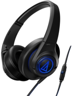 AUDIO TECHNICA ATH-AX5IS SONICFUEL OVER-EAR HEADPHONES FOR SMARTPHONES BLACK