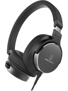AUDIO TECHNICA ATH-SR5BK ON-EAR HIGH-RESOLUTION AUDIO HEADPHONES BLACK