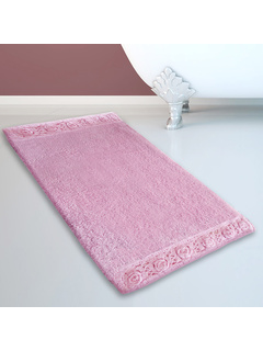 Πατάκι Μπάνιου (50x80) San Lorentzo 925 Double Lace Light Rose