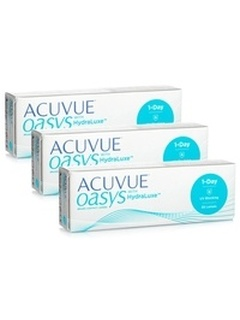 Johnson & Johnson Acuvue Oasys 1 Day with HydraLuxe (90 φακοί)