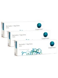 CooperVision Biomedics 1 Day Extra Toric (90 φακοί) Ημερήσιοι Μυωπίας Υπερμετρωπίας