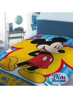 Κουβέρτα Πικέ Μονή Dim Collection Mickey 565
