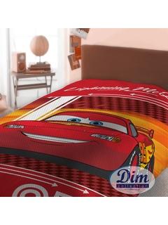 Κουβέρτα Πικέ Μονή Dim Collection Cars 575