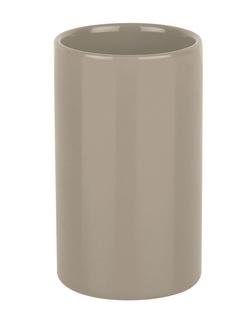 Ποτήρι Οδοντόβουρτσας Spirella Tube 03152 Taupe